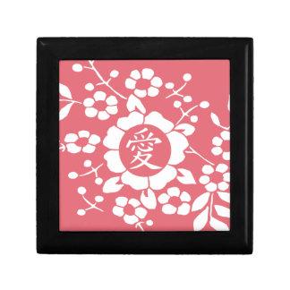 Flores de corte de papel • Rosa precioso Caja De Recuerdo