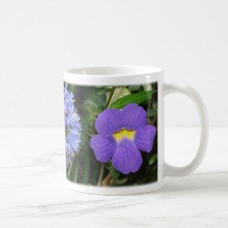Flores de Costa Rica - azul Tazas
