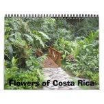 Flores de Costa Rica Calendario