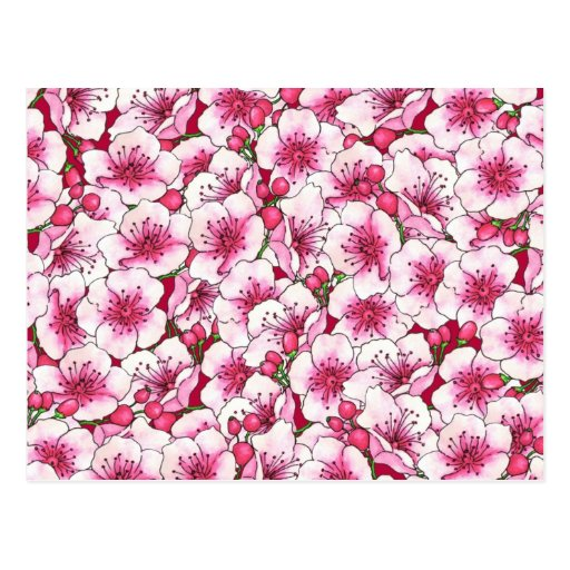 Flores de CustomizPink Postal
