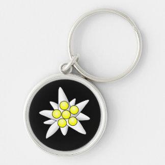 Flores de Edelweiss Llavero Personalizado