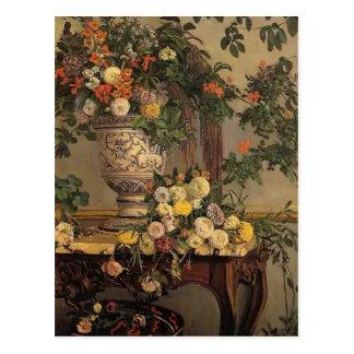 Flores de Federico Bazille- Postales