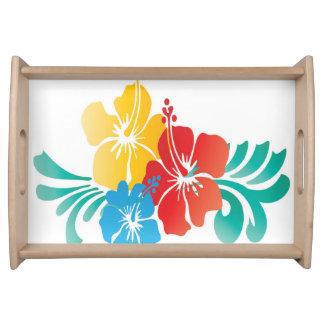 Flores de Hawaii Bandejas