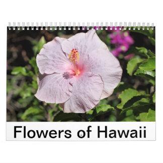 Flores de Hawaii Calendario