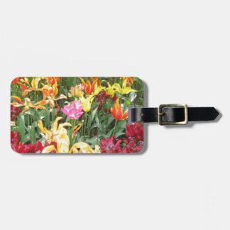 Flores de Holanda, Keukenhof Etiquetas Para Maletas