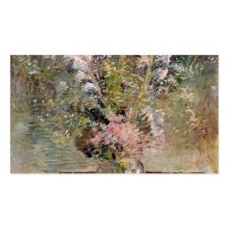 Flores de John Henry Twachtman- Tarjetas De Visita