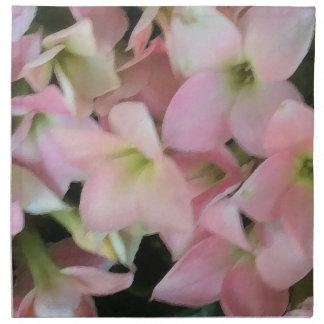 Flores de Kalanchoe Servilletas De Papel