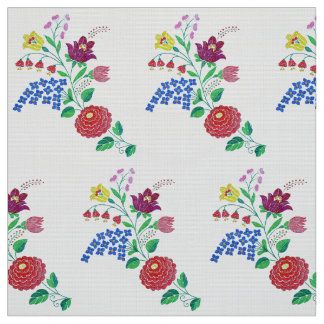 Flores de Kalocsa Telas
