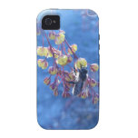 Flores de la abeja y del Berberis Vibe iPhone 4 Carcasa