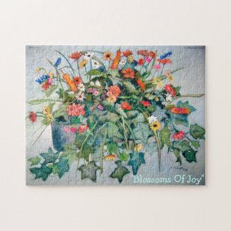 Flores de la alegría rompecabeza
