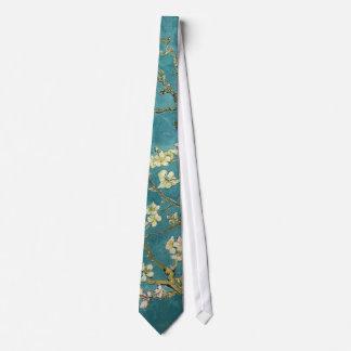 Flores de la almendra corbatas