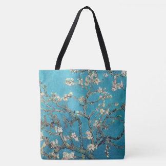 Flores de la almendra de Van Gogh Bolsa De Tela