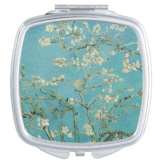 Flores de la almendra de Vincent van Gogh Espejo Para El Bolso