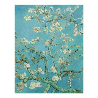 Flores de la almendra de Vincent van Gogh Tarjeta Publicitaria