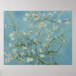 Flores de la almendra de Vincent van Gogh Impresiones