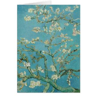 Flores de la almendra de Vincent van Gogh Tarjeta De Felicitación