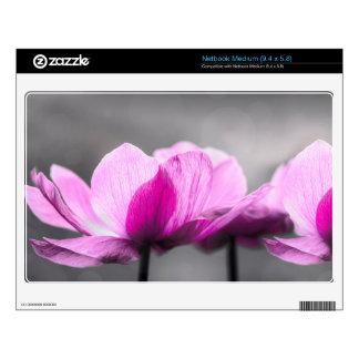 Flores de la anémona skins para netbooks