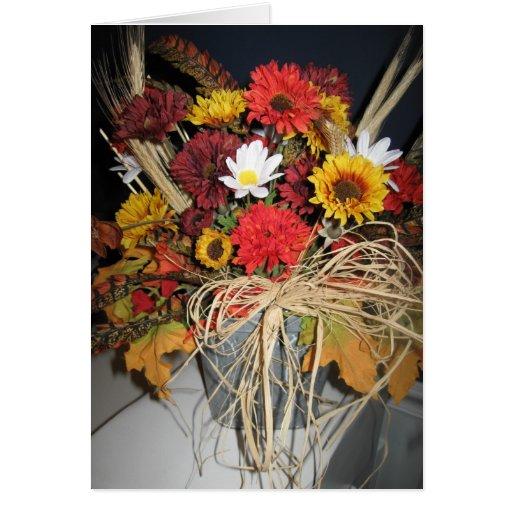 flores de la caída felicitaciones