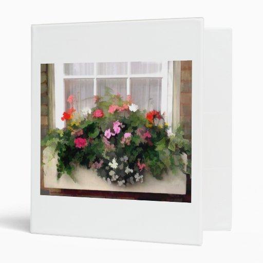 "Flores de la caja de ventana carpeta 1"""
