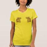 Flores de la camiseta de la paz