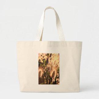 Flores de la cola del algodón del oro bolsas