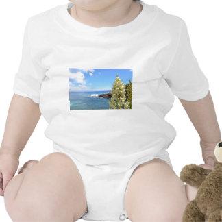 Flores de la costa y de la yuca en la floración camisetas