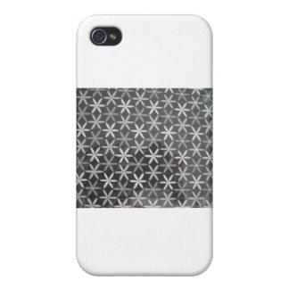 Flores de la estrella iPhone 4 cárcasa