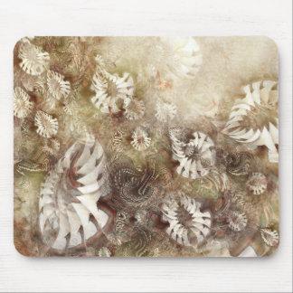 Flores de la fantasía alfombrilla de ratones