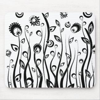 flores de la fantasía tapete de ratones