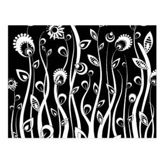 flores de la fantasía tarjeta postal