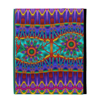 Flores de la fantasía y caja fresca del folio del