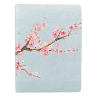 Flores de la flor de cerezo funda para libreta y libreta extra grande moleskin