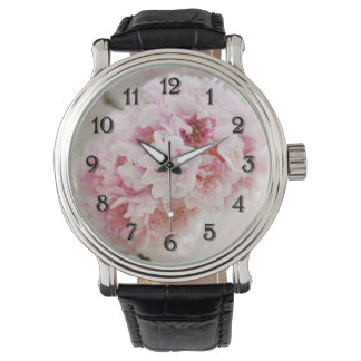 Flores de la flor de cerezo relojes de mano