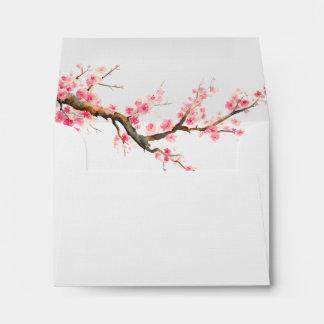 Flores de la flor de cerezo sobre