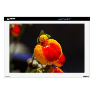 Flores de la flor del monedero de una señora skins para 43,2cm portátiles