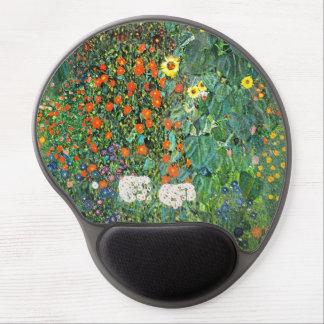 Flores de la granja de Blumengarten Alfombrillas De Raton Con Gel