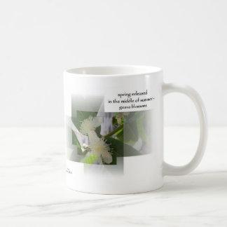 Flores de la guayaba tazas de café