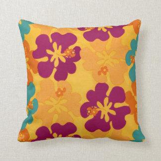 Flores de la hawaiana - almohada