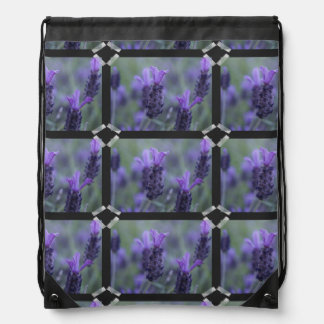 Flores de la lavanda mochilas