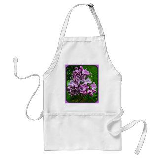 Flores de la lila delantales