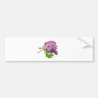 Flores de la lila pegatina para auto