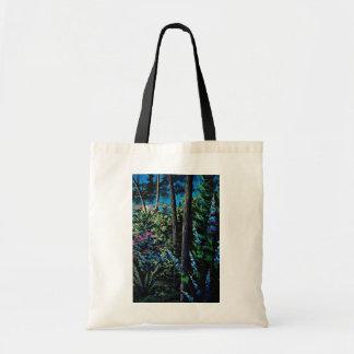 Flores de la magia del bosque bolsa de mano