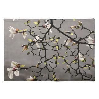 Flores de la magnolia mantel