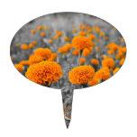 Flores de la maravilla o de Tagetes Decoración Para Tarta