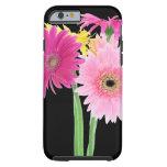 Flores de la margarita del Gerbera Funda De iPhone 6 Tough