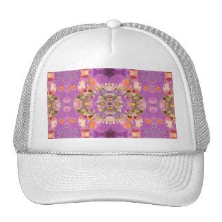 Flores de la mariposa en magenta gorra