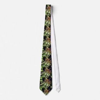 flores de la mosca de la flor blanca corbata personalizada