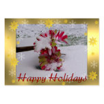 Flores de la nieve plantillas de tarjeta de negocio