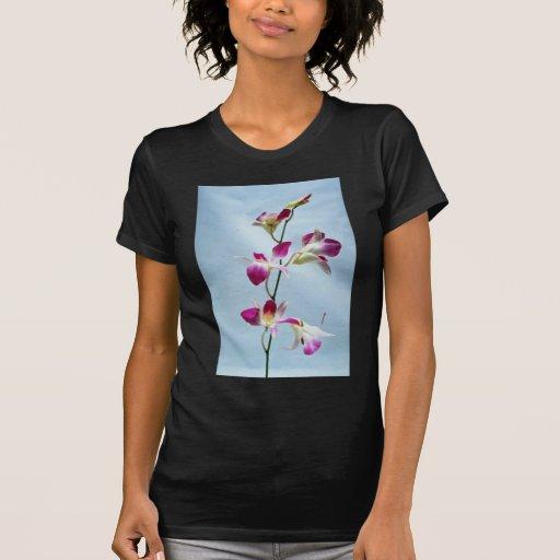 Flores de la orquídea de Singapur Camiseta