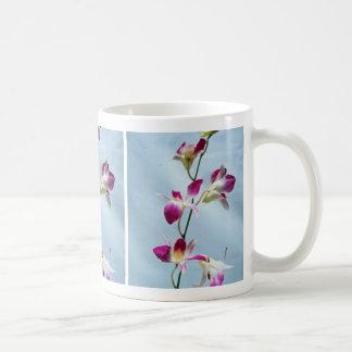 Flores de la orquídea de Singapur Taza De Café